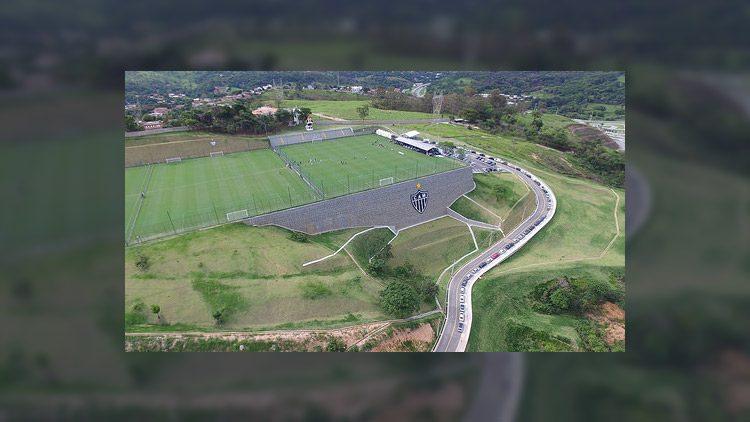 El Centro de Entrenamiento del Atlético-MG es señalado uno de los más grandes del mundo