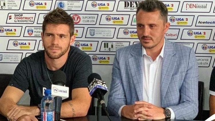 El ex Santa Cruz, Diego Lorenzi impacta con el club rumano