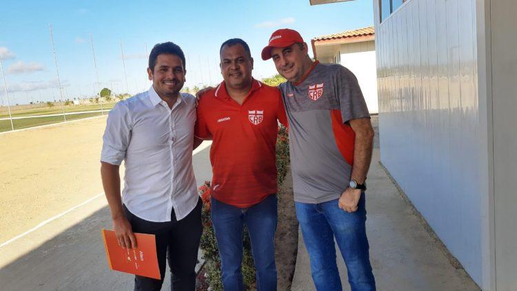 AL Sports realiza visitação institucional ao CRB e CSA