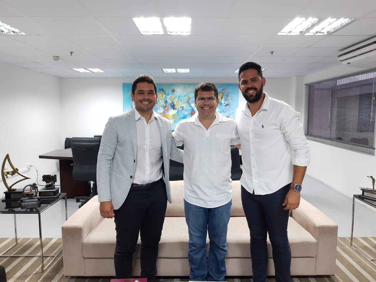 AL Sport visita Secretaria de Esportes do Ceará